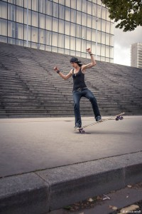 Cecile Lahaie – Skater from Boardeaux