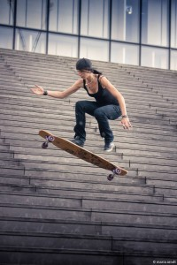 Cecile Lahaie – Skater from Boradeaux